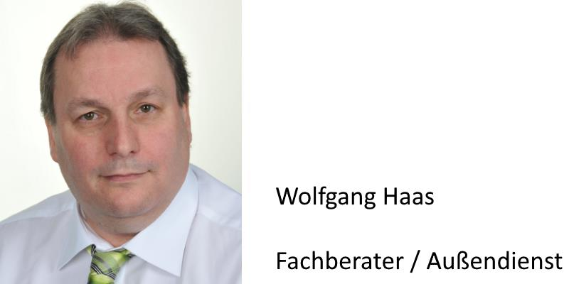 Wolfgang Haas Fachberater Anton Weber GmbH